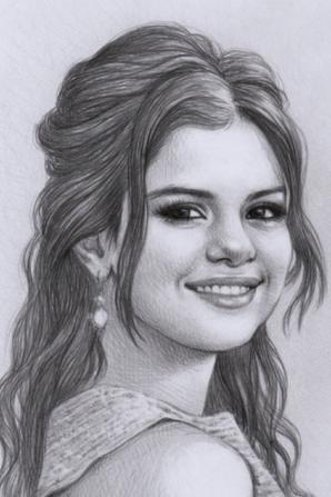 Selena gomez serena2001 - Selena gomez dessin ...