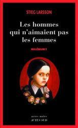 Millénium 1: les hommes qui n'aimaient pas les femmes- Stieg Larsson