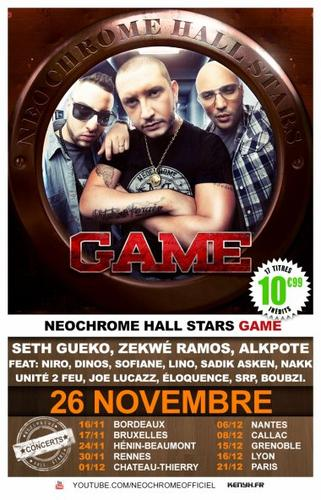 "| NEWS | N�ochrome Hall Stars ""Game"" 