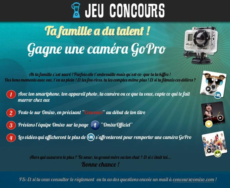 Le concours Omixo est en ligne ! 